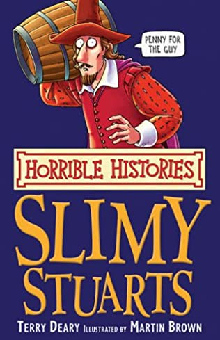 book cover of The Slimy Stuarts