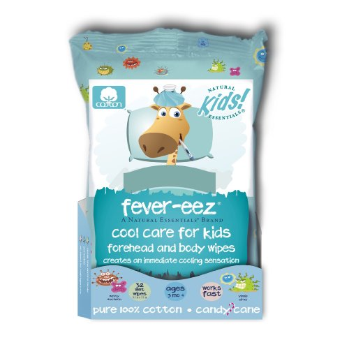 Natural Essentials Fever-eez, Candy Cane, 32-count (Pack of 12)