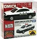 1/60 スバル レガシィ B4 パトロールカー バレンタインオリジナルVer. #110(ホワイト×ブラック) 「トミカ付き トミカチョコ」の商品画像