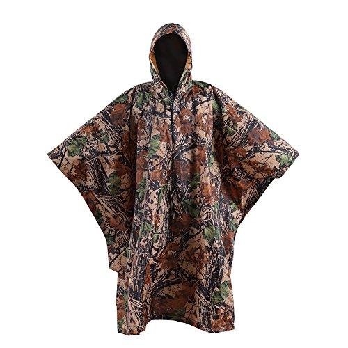 OneTigris Outdoor Multifunctional Raincoat Waterproof
