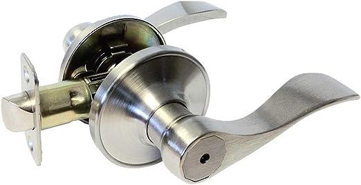 Privacy Dark Oil Rubbed Bronze Lever Handle Door Locks Bedroom and Bathroom