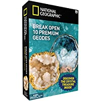 NATIONAL GEOGRAPHIC - Break Open 10 Geodes – TOP QUALITY!
