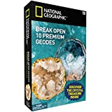 #1: NATIONAL GEOGRAPHIC - Break Open 10 Geodes – TOP QUALITY!