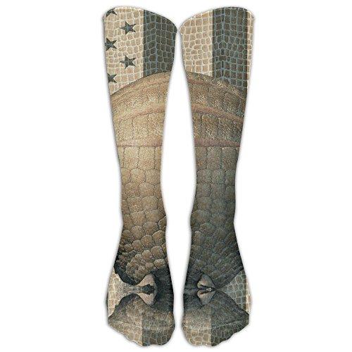 Pangolin And American Flag Compression Socks Tube Socks Athletic Socks Performance Socks Knee Socks Crew Socks Basketball Socks Volleyball - Wallpaper Rugby All Black