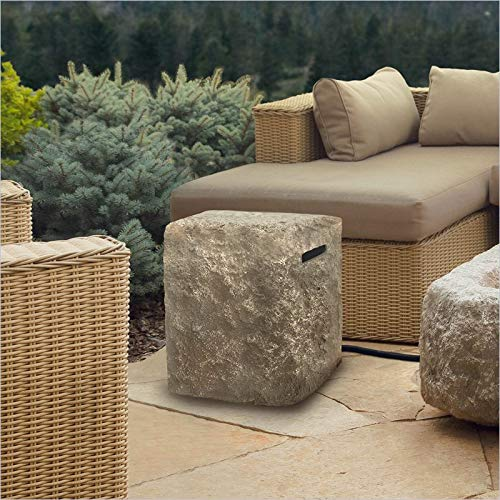 (Real Flame 579-ANS Antique Stone Propane Tank Cover)
