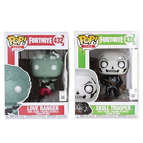 (POP! Funko Fortnite S1 Skull Trooper and Love Ranger Bundle (Set of 2))