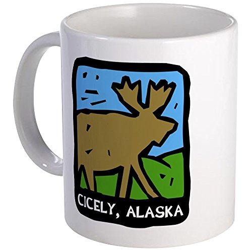 (CafePress Cicely Alaska Moose Mug Unique Coffee Mug, Coffee Cup)
