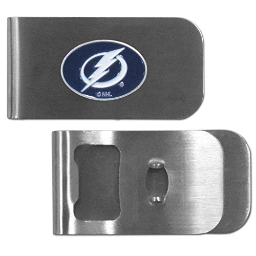 - Siskiyou NHL Tampa Bay Lightning Bottle Opener Money Clip