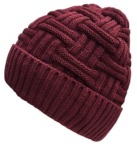 2584a915115 Loritta Mens Winter Warm Knitting Hats Wool Baggy Slouchy Beanie Hat Skull  Cap. Loritta in El Salvador