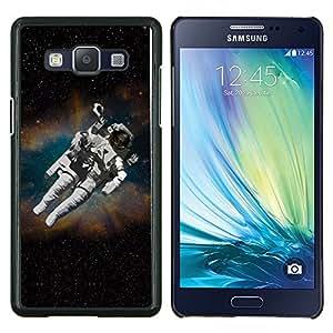 EJOOY---Cubierta de la caja de protección para la piel dura ** Samsung Galaxy A5 A5000 ** --Cosmonauta Astronauta Skeleton Art Space Travel