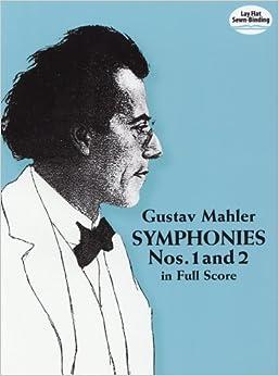 マーラー: 交響曲 第1番 ニ長調 「巨人」、第2番 ハ短調 「復活」/ドーヴァー社/大型スコア