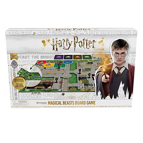 "Pressman PRS4330-06, Harry Potter Magical Beasts Game, Multicolor, 5"" from Pressman"
