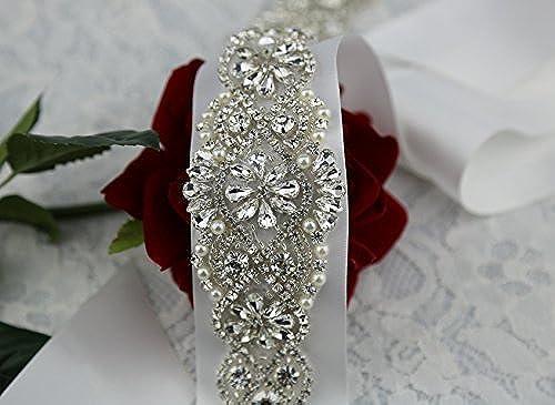 Crystal Sashes For Wedding Wedding Bridal Belt Braided