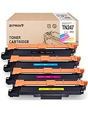 ZIPRINT Toner MIT CHIP Kompatibel Brother TN247 TN-247 für Brother HL-L3210cw L3230cdw L3270cdw MFC-L3710cw L3730cdn L3750cdw L3770cdw DCP-L3510cdw L3550cdw L3517cdw
