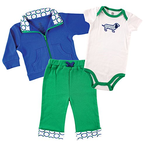 Yoga Sprout Baby and Toddler Jacket, Top and Pant Set