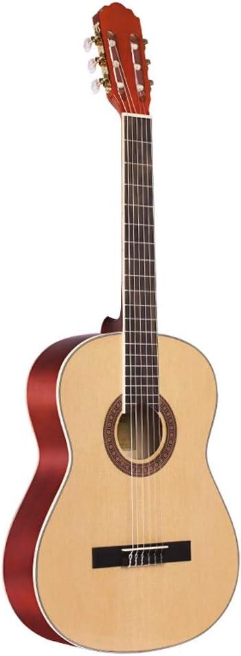 Boll-ATur Guitarra clásica (39 'pulgadas) Paquete de guitarra acústica clásica de estilo español Cuerdas de nylon.Pack de guitarra acústica