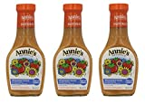 Annie`s Natural Dressing ,Woodstock ,8 Fl oz, (Pack of 3)