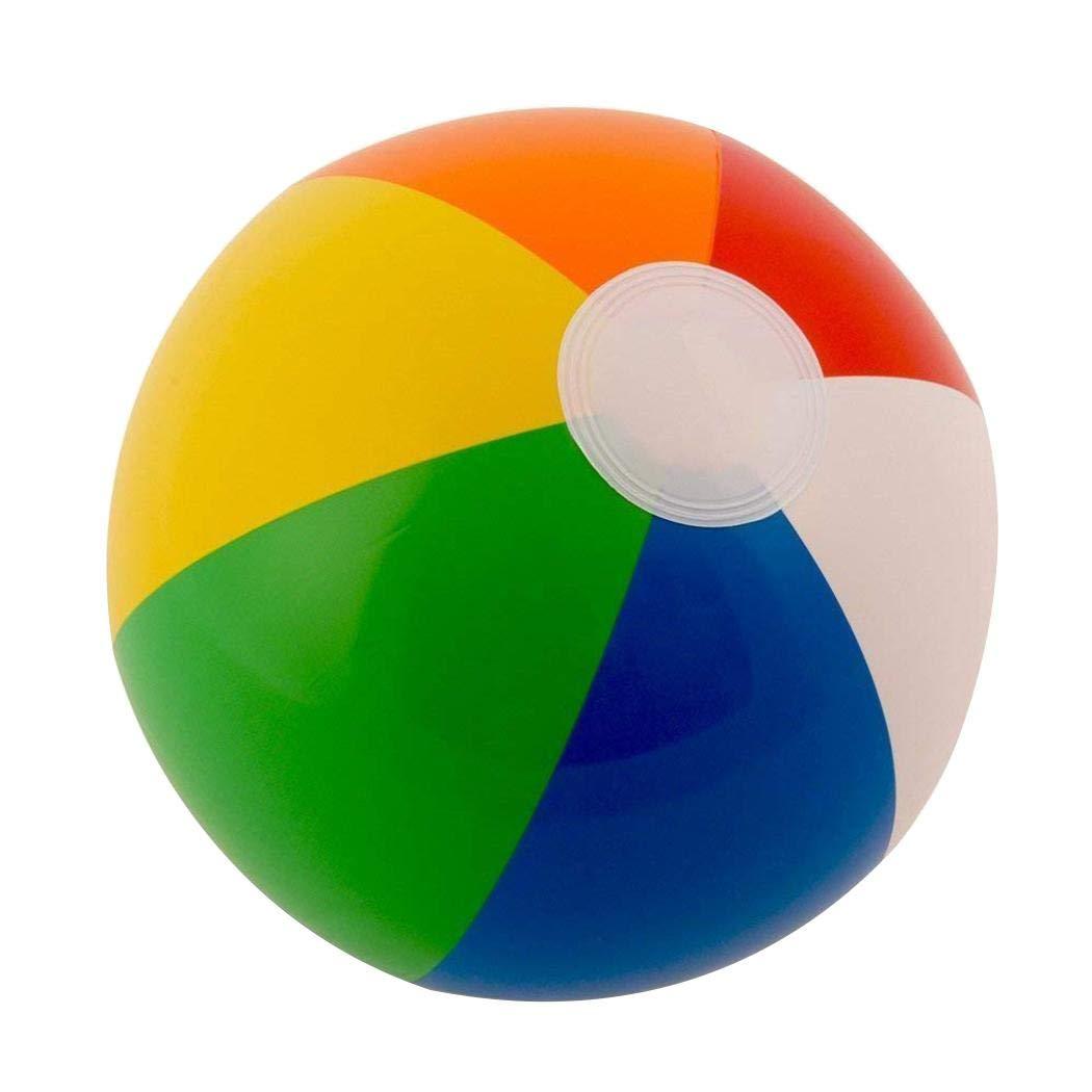 redbe Colorful Gonfiabile del Pallone da Spiaggia per la Festa allaperto della Spiaggia di Estate Palle e palloni
