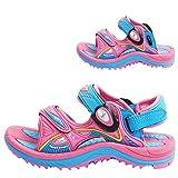 Gold Pigeon Shoes GP Signature Kids SNAP Lock Sandals: 7611 Pink Lt. Blue, EU24