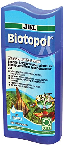 JBL 2300200 Wasseraufbereiter für Süßwasser Aquarien, 250 ml, Biotopol 23002