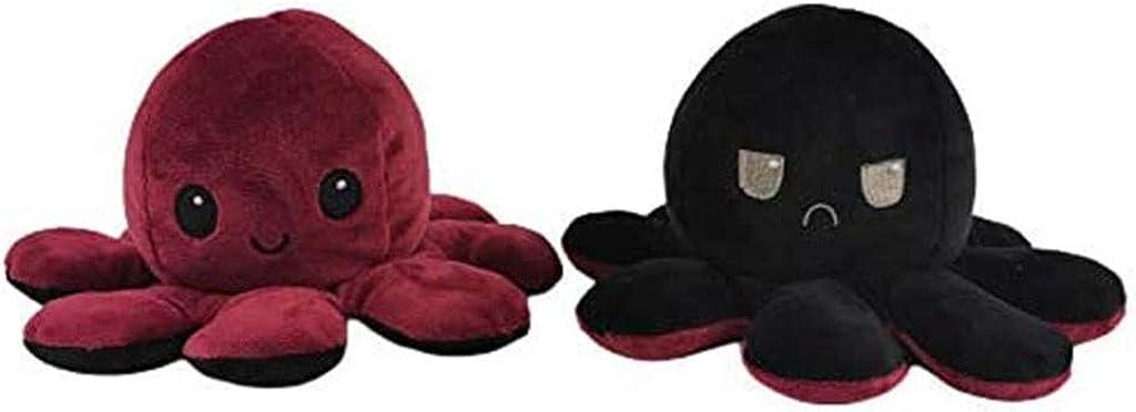 Doppelseitige Flip Kuscheltier Octopus DOCOO Oktopus Kuscheltier Reversible Octopus Pl/üschtier Stofftier Octopus Spielzeug Geschenke f/ür Kinder M/ädchen Jungen Freunde