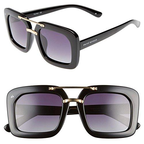PRIVÉ REVAUX ICON Collection The Karl Designer Polarized Geometric Sunglasses