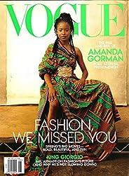 Vogue Magazine (May, 2021) Fashion we Missed you Amanda Gorman Cover