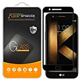 (2 Pack) Supershieldz for LG Harmony Tempered Glass Screen Protector, (Full Screen Coverage) Anti Scratch, Bubble Free (Black)