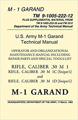 Us Army M 1 Garand Technical Manual Pentagon Us Military