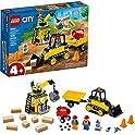 126-Pieces Lego City Construction Bulldozer 60252 Toy Building Set