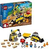 Toys : LEGO City Construction Bulldozer 60252 Toy Construction Set, Cool Building Set for Kids, New 2020 (126 Pieces)