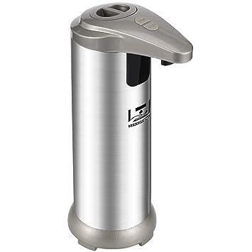 HENGQIANG Dispensador automático de jabón de Acero Inoxidable Resistente a Huellas Dactilares, dispensador de Manos