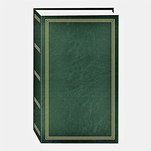 TSVP HUNTER GREEN photo album 500 pocket for 4