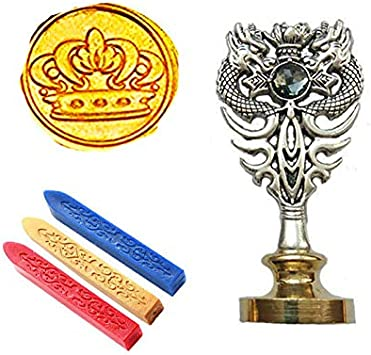Custom design dragon Wax Seal stamp wedding invitation wax seals kit gift wrapping wax seals
