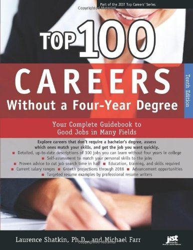 Top 100 Careers Without a Four-Year Degree (Top Careers)