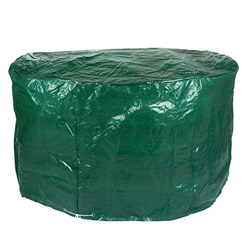 Seater Garden 4 (4 Seater Round Patio Set Cover Green Garden Protection Waterproof Cover)