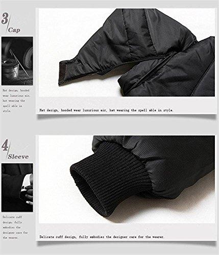Puffer Outwear Packable Coats Men's Winter Jacket Mintsnow Lightweight Black 4XL Down 0wSAUqgTx