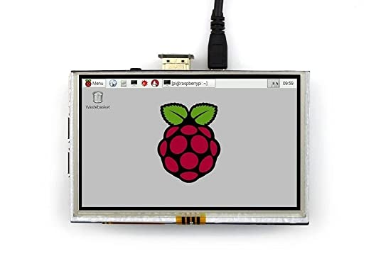 3 opinioni per Waveshare Raspberry Pi LCD Display Module 5inch 800*480 TFT Resistive Touch