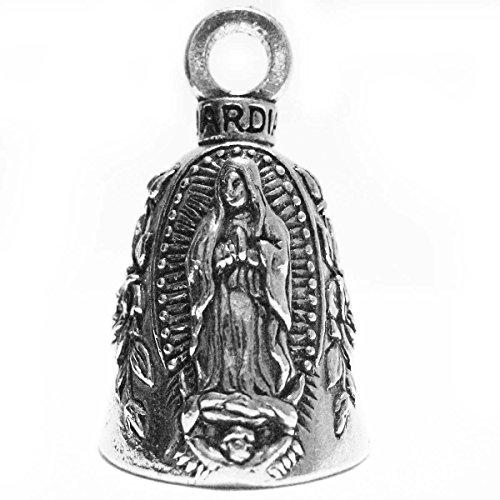 Guardian Virgin Mary Motorcycle Biker Luck Gremlin Riding Bell or Key Ring