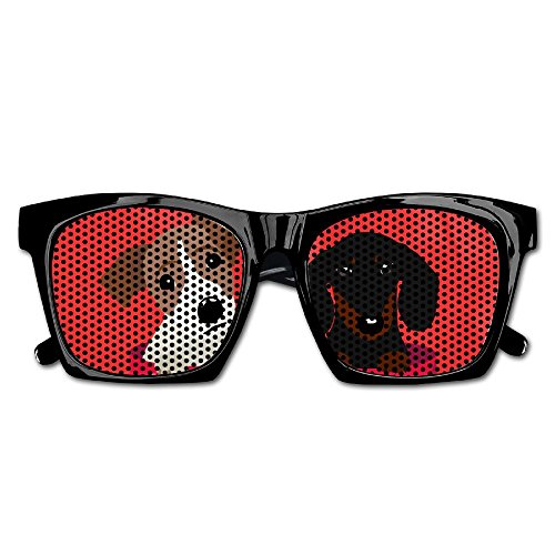 (Xing Stars Colorful Summer Unisex Jack Russell Terrier And Dachshund Fashion Party Costume)