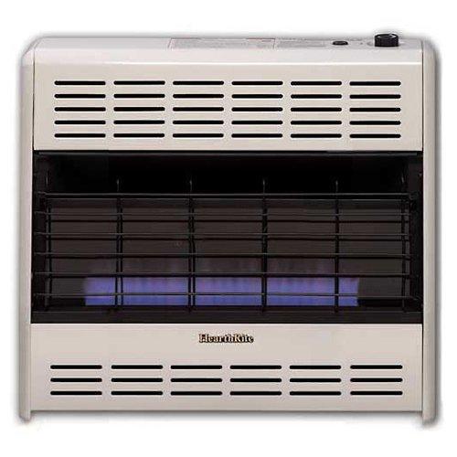 Amazon.com: Empire ventilación-free Llama Azul calentador LP ...
