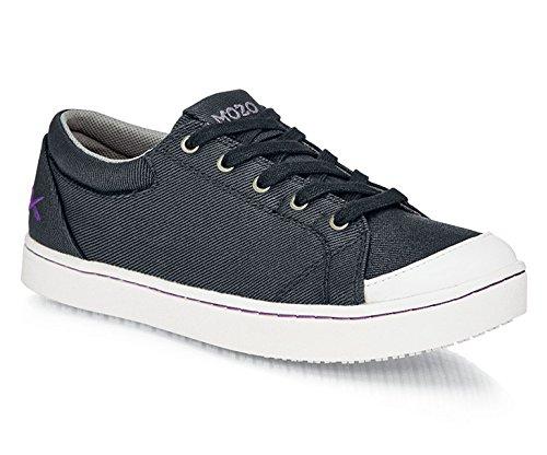 Scarpe per Equipaggi M30390 – 39/6 Mozo Maven scarpe da donna in tela, antiscivolo, 6 EU, nero/bianco