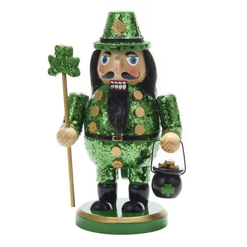 Kurt Adler 8'' Wooden Irish Nutcracker