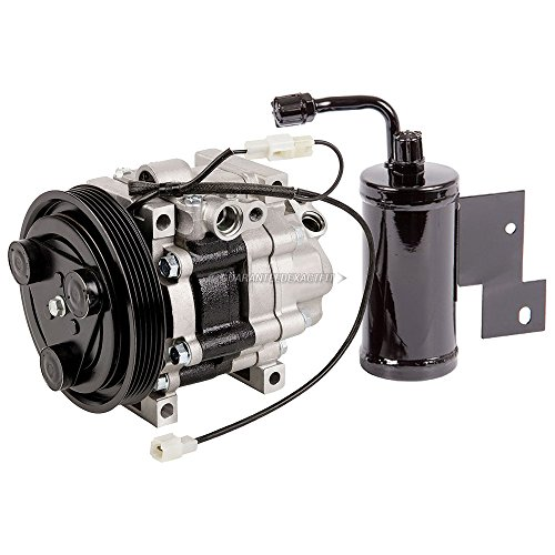 OEM AC Compressor w/A/C Drier For Mazda 626 & MX-6 1993-1997 - BuyAutoParts 60-87668R4 New (Mazda 626 A/c Compressor)
