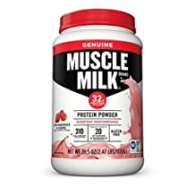 CytoSport 400022 Muscle Milk Strawberries N Creme,39.52 Ounce