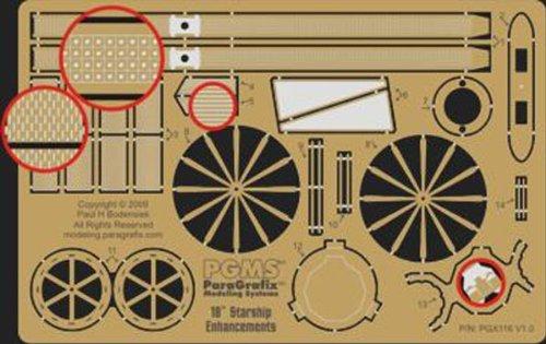 Paragrafix - STAR TREK 18 INCH ENTERPRISE ACCURIZING PHOTOETCHED SET - PGX116