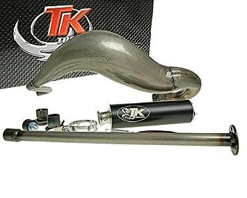 Turbo Kit de escape Carreras 80 para Derbi GPR 50 (05 de): Amazon.es: Coche y moto