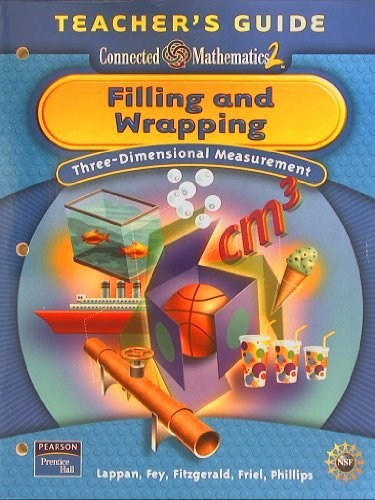 Filling and Wrapping: Three-Dimensional Measurement, Teacher's Guide