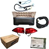 Club Car Precedent Golf Cart FULL LED Headlight Tail Light Kit 2008.5 and Up