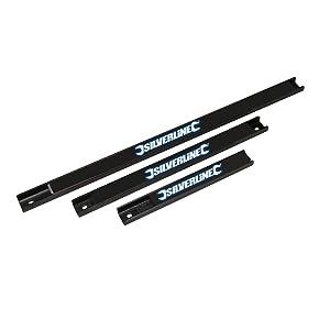 Silverline 633950 Magentic Tool Rack - 3 Pieces